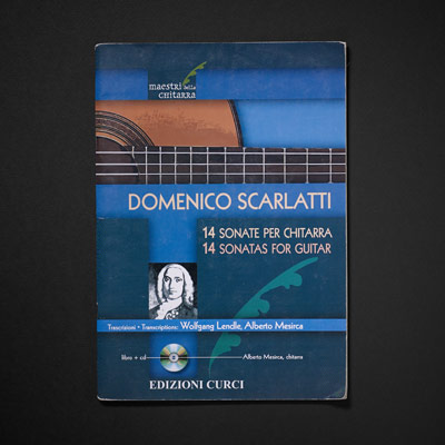 Scarlatti, 14 Sonatas for guitar