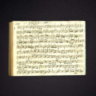 Sutro Library Manuscript